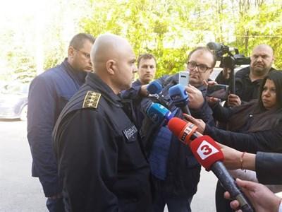Главен комисар Ивайло Иванов СНИМКА: МВР