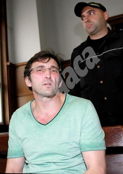 Герман Костин - осъден на първа инстанция на доживотен затвор без замяна за убийството на детето от куфара през 2015 г. СНИМКА: 24 часа