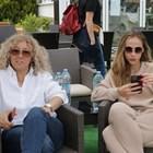 Лолита в компанията на майката на Григор Мария СНИМКА: България днес