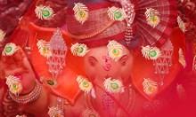 Фестивал посветен на хинду божеството Ганеш Индия