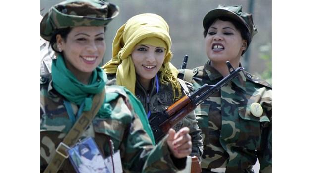 Момичето-палач от силите на Кадафи