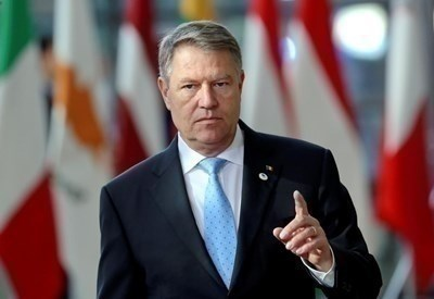 Румънският президент Клаус Йоханис СНИМКА: Ройтерс