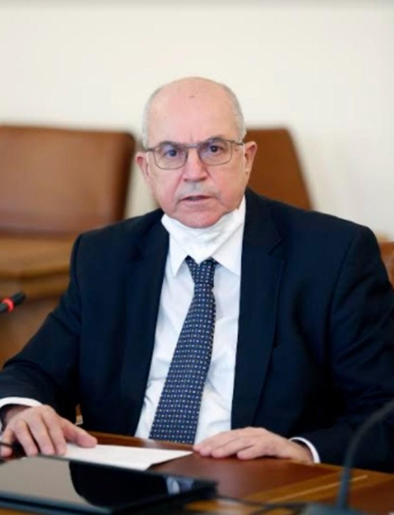 Проф. Красимир Гигов, председателят на Националния ваксинационен щаб
