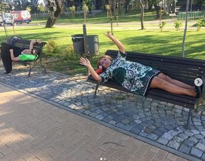Снимки: Инстаграм профил на Марта Вачкова