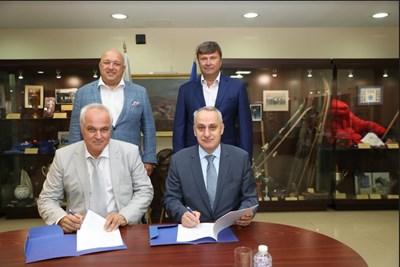 Снимки: Министерство на спорта