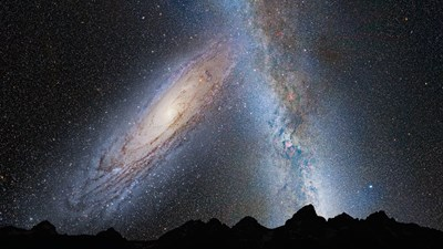 Млечния път. Снимка: Pixabay