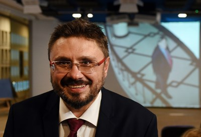 Генералният директор на БТА Кирил Вълчев СНИМКА: Велислав Николов
