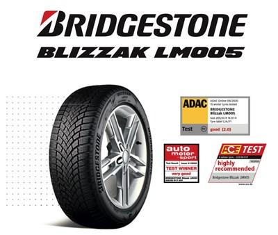 Какво направи Bridgestone Blizzak LM005 най-добрата зимна гума за 2020