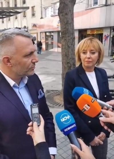 Николай Хаджигенов и Мая Манолова Кадър: Фейсбук