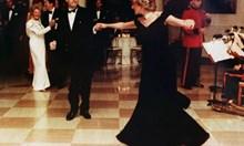 Рокля от паметен танц на принцеса Даяна и Джон Траволта отива на търг