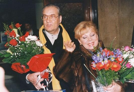 Музата на Николай Гяуров си отиде 16 години след неговата смърт