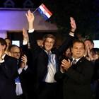 Управляващата в Хърватия консервативна партия Хърватска демократична общност /ХДО/ на премиера Андрей Пленкович постигна убедителна победа СНИМКА: РОЙТЕРС