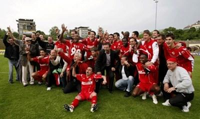 ЦСКА направи последният перфектен сезон през 2008 година.