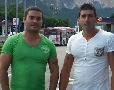 Двамата братя Цветан (вляво) и Марко