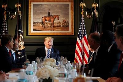 Доналд Тръмп оповести двойно увеличение на вносните мита върху стоманата и алуминия от Турция за САЩ СНИМКА: РОЙТЕРС