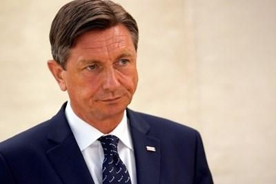 Президентът на Словения Борут Пахор СНИМКА: Ройтерс
