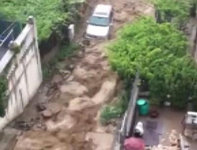 Разрушената улица в Дупница Кадър: Би Ти Ви