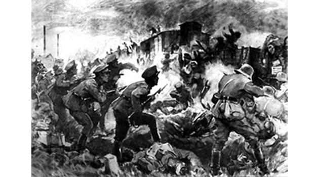Как гневни войници преди 100 г. аха да завземат София
