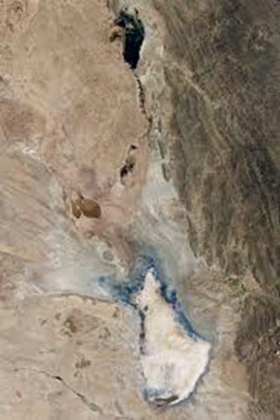 Езерото, снимано от космическа станция СНИМКА: НАСА