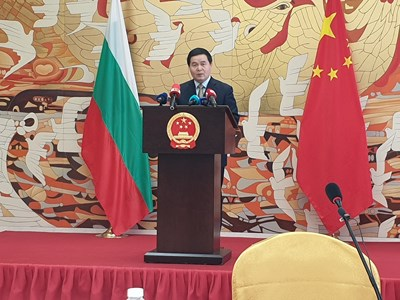 Негово превъзходителство Дун Сяодзюн, посланик на Китайската народна република СНИМКИ И ВИДЕО: Станимир Въгленов