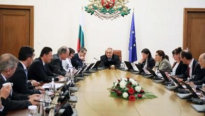 Премиерът Бойко Борисов се срещна с представители на германския бизнес в България.
