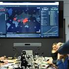 Членове на германското правителство следят разпространението на вируса.