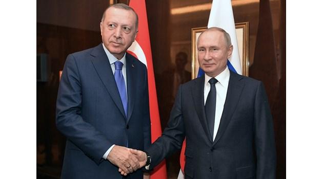 Путин надхитри Ердоган, обърна го срещу Запада
