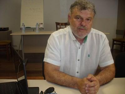 Йонко Иванов, председател на Управителния съвет на Съюза на преподавателите по авто-мото подготовка СНИМКА: Ваньо Стоилов