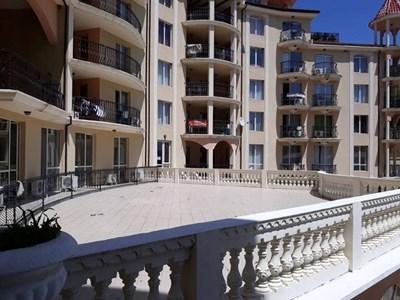 Един от комплексите в Слънчев бряг, в който се разпродават имоти на длъжници. Снимка: НАП Бургас