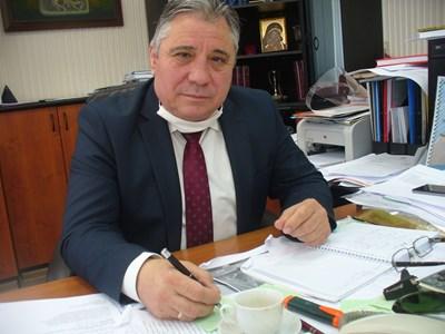 Доц. Добри Ярков, ректор на Тракийския университет в Стара Загора