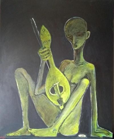 Една от картините на Тотев, която ще бъде показана в Антверпен