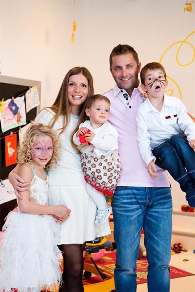 Цялото семейство на дизайнерката Аля Милушева  СНИМКИ: ЛИЧЕН АРХИВ