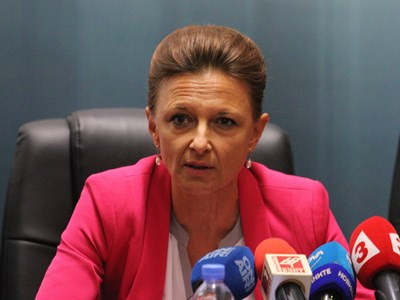 Даниела Начева - ръководител на Специализираната прокуратура СНИМКА: Благой Кирилов