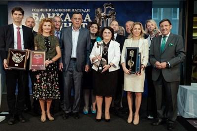 И при връчване на традиционни банкови награди жените банкери отново са на първа линия.