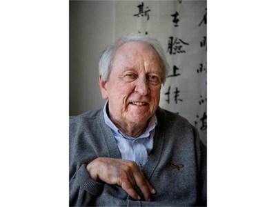 80-годишният шведски поет Тумас Транстрьомер е тазгодишният носителят на Нобеловата награда за литература. СНИМКА: РОЙТЕРС