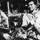 """Вълка Горанова и Митка Гръбчева в партизанския отряд """"Дядо Вълко"""", март 1944 г"""
