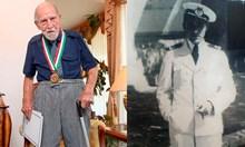 Днес изпращаме легендарния капитан Вълчанов, единствен оцелял в торпилиран от подводница кораб