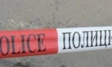 Полицейска акция пред банков клон в центъра на София