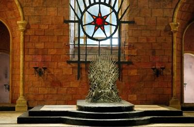 Железният трон в Белфаст Снимка: Ройтерс