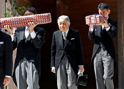 Император Акихито Снимка: Ройтерс