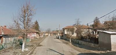 Участъкът през село Каменово ще е в ремонт от утре  СНИМКА: Гугъл стрийт вю