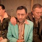 Юлиан Вергов, Моню Монев и Иван Радоев с пиеса в Лондон на 1 март
