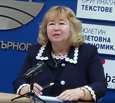 Проф. Марияна Божинова СНИМКА: Дима Максимова