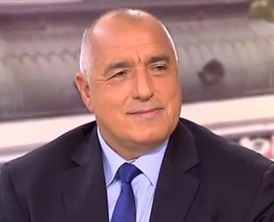 През по-голямата част от интервюто в Нова тв Борисов бе в добро настроение.