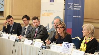 Външният министър Екатерина Захариева участва в конференция за гражданското общество в Западните Балкани.