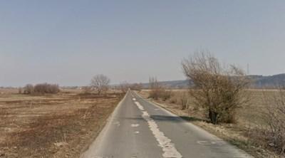 Пътят село Торос - село Пещерна СНИМКА: Google Street View