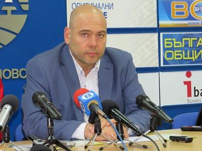Симеон Караколев - съпредседател на НОКА СНИМКА: Дима Максимова