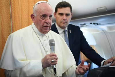 Папа Франциск Снимки: Ройтерс