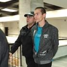 Охрана води Шабан в съда в Благоевград.
