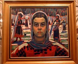 """""""Белене на платно"""" на Майстора беше открадната от Художествената галерия, но след дълго издирване бе открита и върната."""